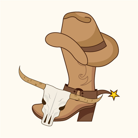 old west: old west design, vector illustration eps10 graphic Illustration