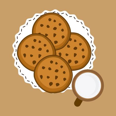 cofffee: bakery shop design Illustration