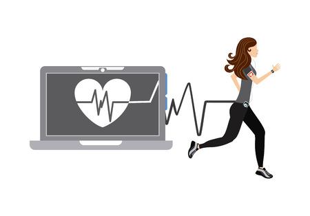 wearable technology design Illustration