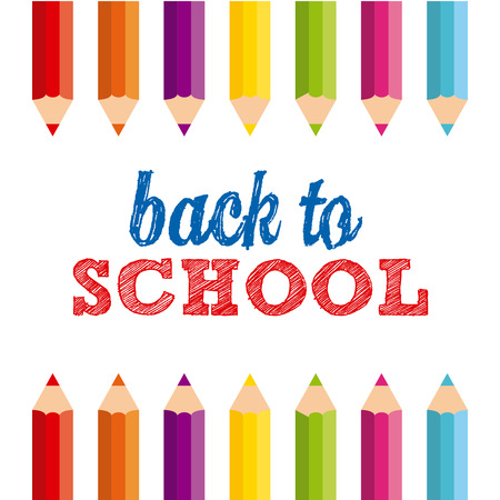 back to school: back to school design Illustration