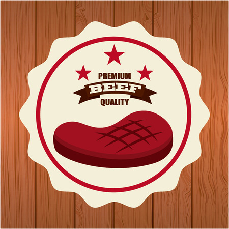 delicious barbecue design, vector illustration eps10 graphic Vector