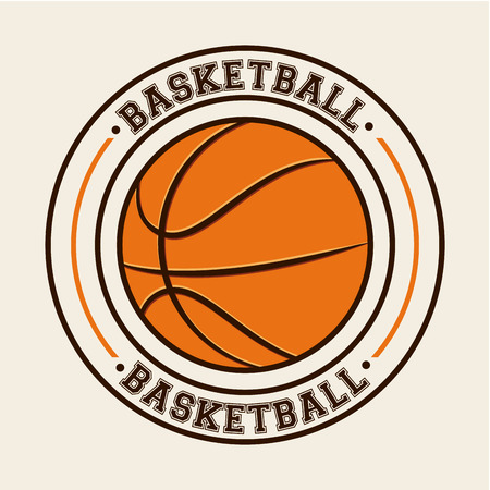 basketball sport design, vector illustration Illustration