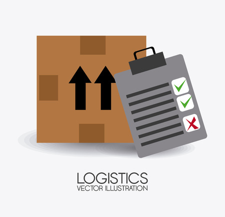 commerce and industry: Delivery design over white background,vector illustration.