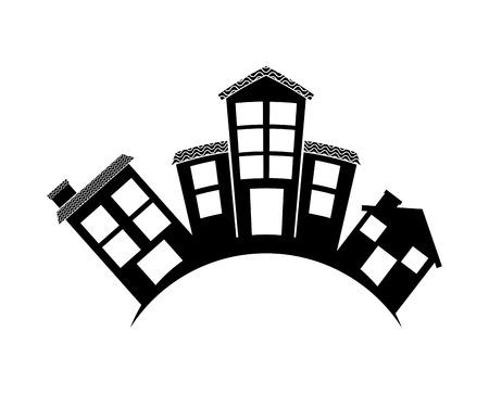welkom wijk ontwerp, vectorillustratie eps10 grafische