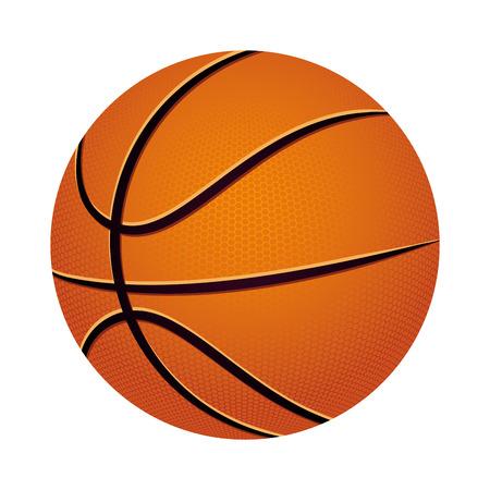 basketbal sport ontwerp, vectorillustratie eps10 grafische