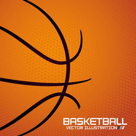 basketbal sport ontwerp, vector illustratie eps10 grafische