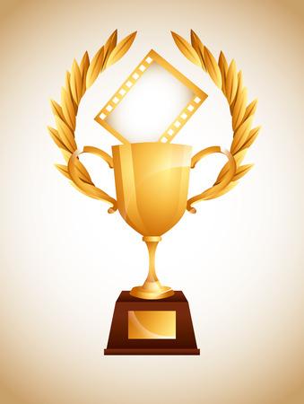 film award design, vector illustration eps10 graphic