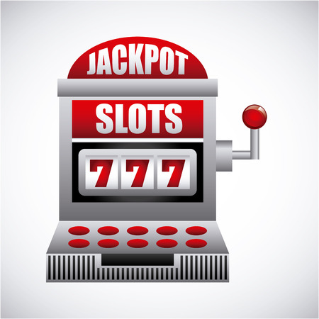 jack pot: casino game design, vector illustration eps10 graphic