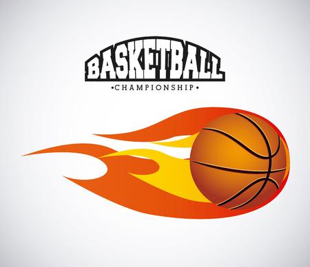 basketball sport design, vector illustration eps10 graphic Ilustracja