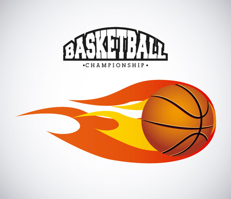 basketball sport design, vector illustration eps10 graphic Illustration
