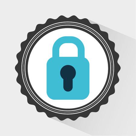 padlock icon: padlock icon design Illustration