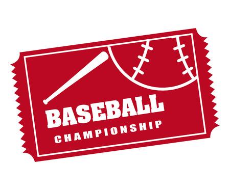 baseball: baseball sport design