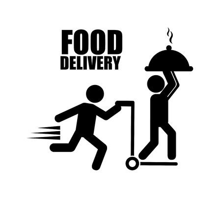 Voedsel levering ontwerp Stockfoto - 37510531