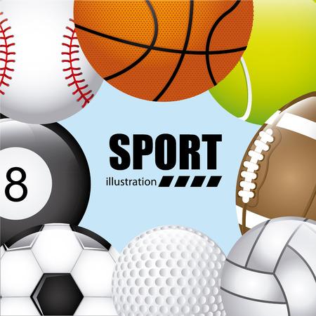 balls sport design, vector illustration eps10 graphic