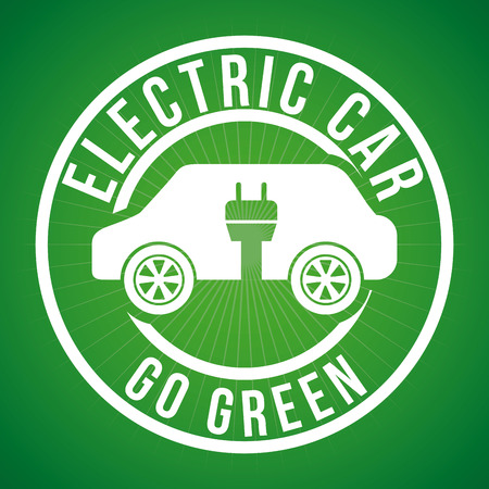 elektrische auto grafisch