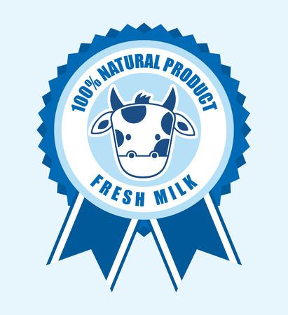 milk product design, vector illustration eps10 graphic