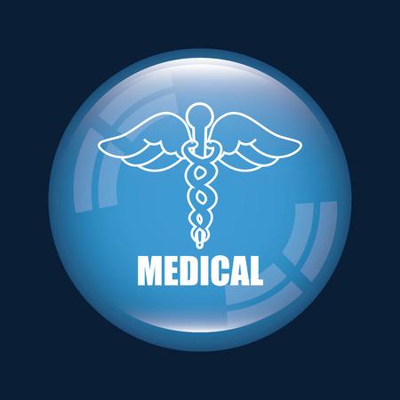 医療のデザイン、ベクター イラスト eps10 グラフィック