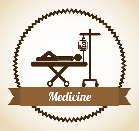 医療施設の設計、ベクトル図 eps10 グラフィック  イラスト・ベクター素材