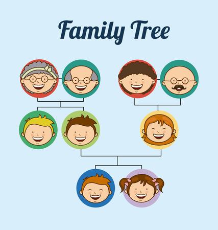 daugther: family love design, vector illustration eps10 graphic Illustration