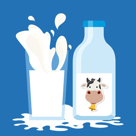 cow bells: milk product design, vector illustration eps10 graphic