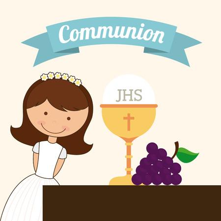 chalice: catholic religion design, vector illustration eps10 graphic