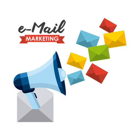 email: email concept design, vector illustration graphic