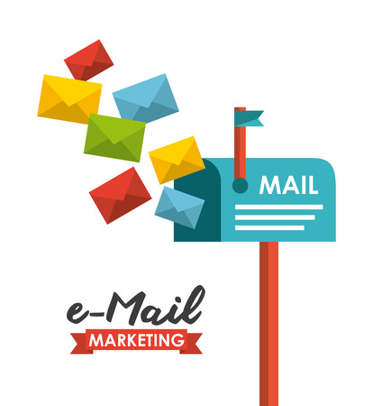 email concept design, vector illustration graphic Vector