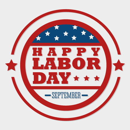 labor day: Labor day card design, vector illustration. Illustration