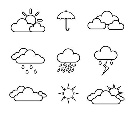 rainy season: Rainy season design, vector illustration.