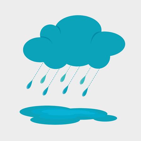 the rainy season: Rainy season design, vector illustration.
