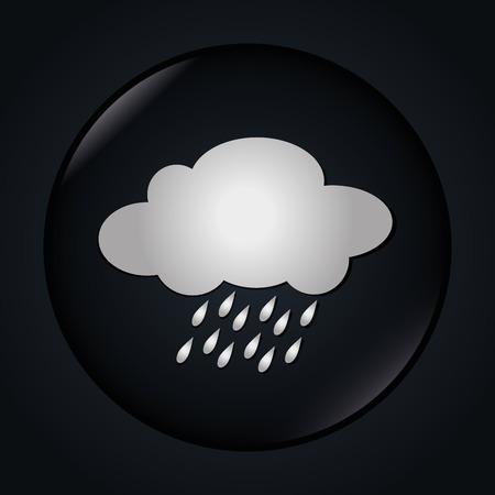 the season: Rainy season design, vector illustration.