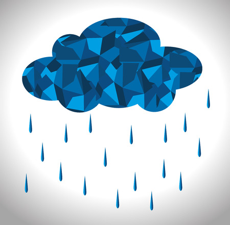 humid: Rainy season design, vector illustration.