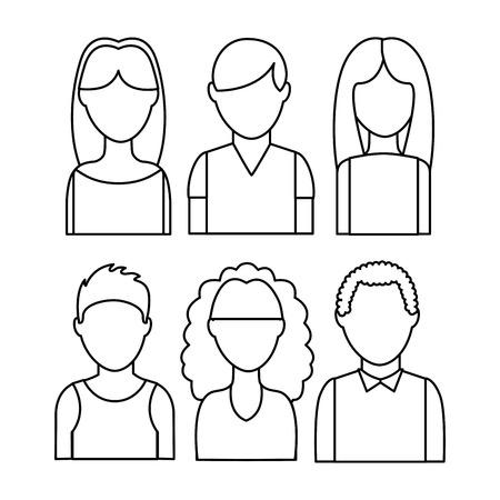 smart woman: users icon design, vector illustration eps10 graphic Illustration