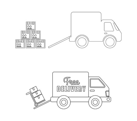 delivery concept design, vector illustration eps10 graphic Vector