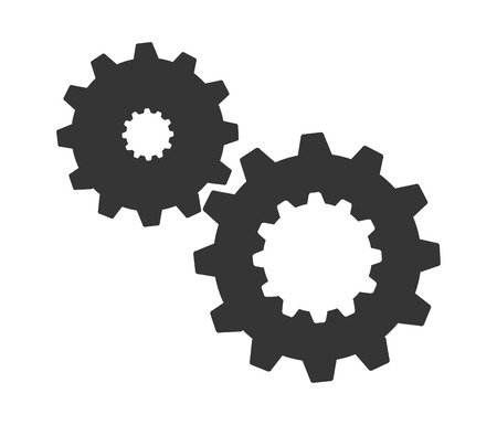 gears concept: gears concept design, vector illustration eps10 graphic Illustration