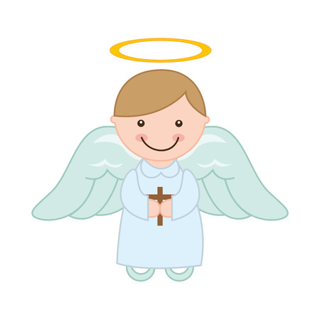 halo angel: cute angel design, vector illustration eps10 graphic
