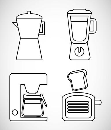 kitchen icon design, vector illustration eps10 graphic Vector