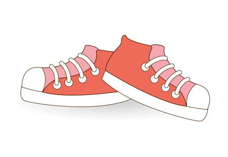 converse: junge Schuhe Design, Vector Illustration eps10 Grafik