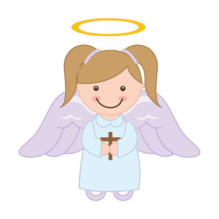 halo angel: cute angel design, vector illustration eps10 graphic
