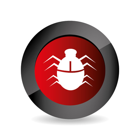 animal private: Security system over white background design, vector illustration.