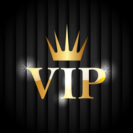 vip design: VIP design over black background, vector illustration. Illustration