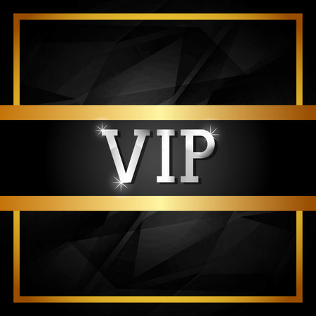 vip design: VIP design over white background, vector illustration. Illustration