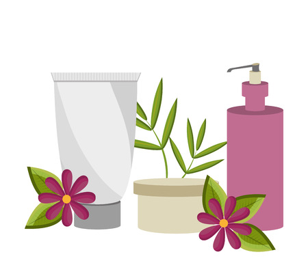 bodycare: Spa design over white background, vector illustration.