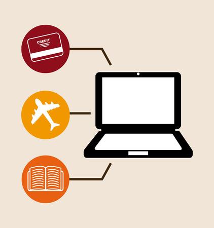 commerce: electronic commerce design. Illustration