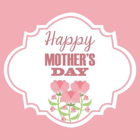 happy mothers day design.