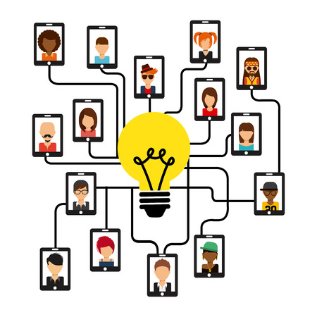 comunity: big idea design. Illustration