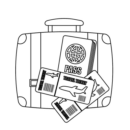 holiday travel design illustration Vector