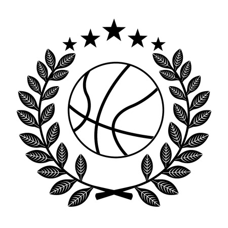 balon baloncesto: campeonato de baloncesto, ilustración, diseño