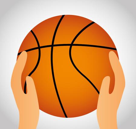 balon baloncesto: baloncesto, ilustraci�n, dise�o