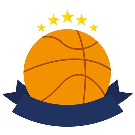 balon de basketball: dise�o campeonato de baloncesto